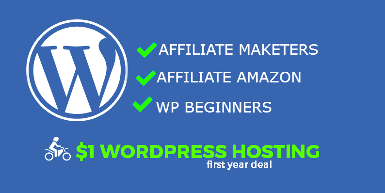 $1 wordpress hosting amazon