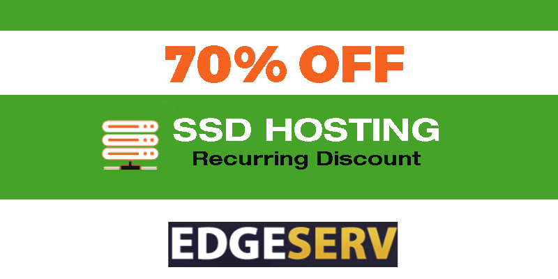 Edgeserv.com hosting coupon