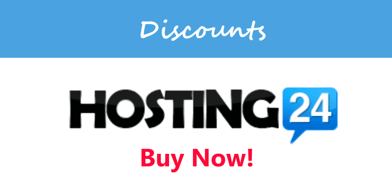 hosting24 discount
