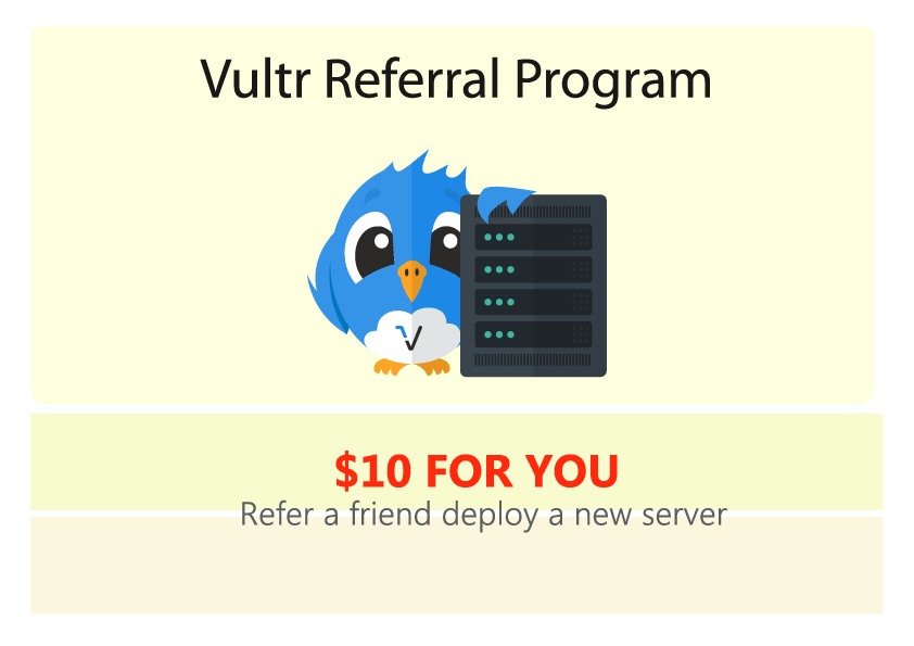 vultr referral program