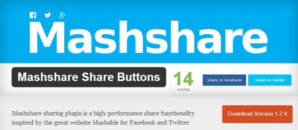 mashable share social wordpress theme