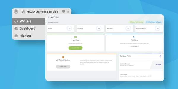 wp live support services