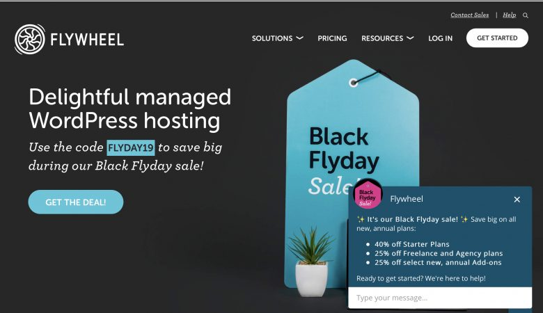 black friday flywheel 2019
