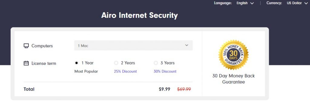 Airo Internet Security